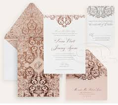 Gold Invitation Card Luxury Wedding Invitations By Ceci New York Our Muse Romantic