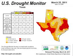 Weather Map Texas Texas Crop Weather For March 29 2011 Agrilife Todayagrilife Today