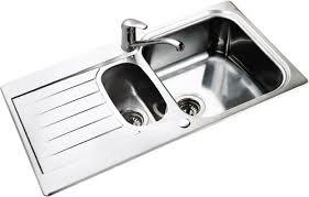 Seattle  Bowl Stainless Steel Kitchen Sink Reversible Leisure - Kitchen stainless steel sink