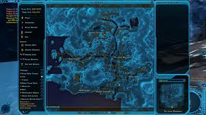 Swtor Map Exploration Of Alderaan Finished Map Almost Ready To Puplish