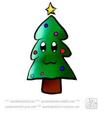 die besten 25 cartoon christmas tree ideen auf pinterest baum