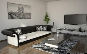 black and white living room furniture amazing living room black and white andrej enveter 3d artist in