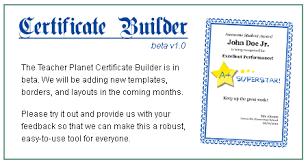 certificates 4 teachers arts and music awards certificates