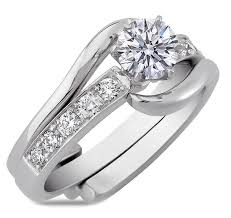 interlocking engagement ring wedding band interlocking engagement rings from mdc diamonds nyc