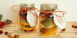diy holiday gift jars cranberry orange stove top potpourri