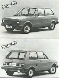 yugo yugo 45 1980