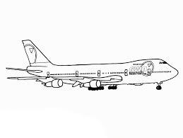 print u0026 download airplane coloring pages