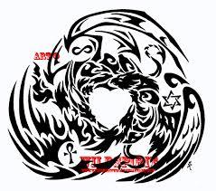 dragon griffon phoenix tattoo by wildspiritwolf on deviantart