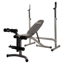 amazon com body champ olympic weight bench with leg developer