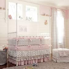 Tropical Bedding Sets Tropical Bedding Sets For Traditional Nursery With Metal Crib