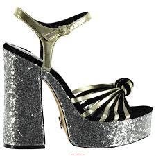 autumn clearance black silver windsor smith roxie heeled sandal
