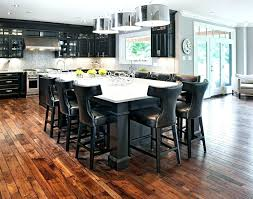 Kitchen Island With Table Seating Kitchen Island With Seating For 4 Aexmachina Info