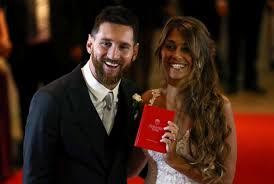 his and wedding did he mess it up superstar leo does the impossible in football