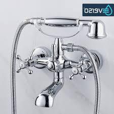beautiful handheld shower head for bathtub faucet bathroom ideas