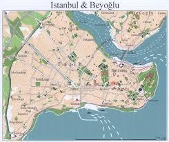 Map Of Istanbul Imperial Capitals Of Turkey Field Seminar Istanbul Iznik Bursa