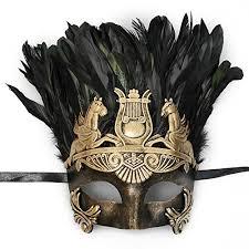 masquerade masks mens mens gold masquerade mask with feathers beauty