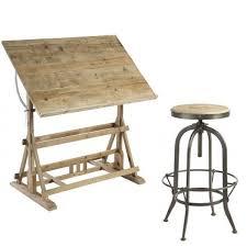 bureau table dessin table dessin architecte ancienne d design industriel 5 futura argent