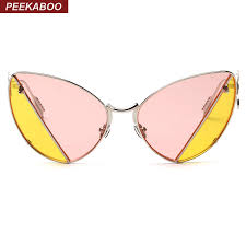 online buy wholesale pink lens sunglasses from china pink lens