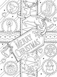 25 unique merry christmas coloring pages ideas