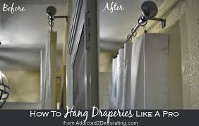 Hanging Curtains With Rings How To Hang Draperies And Curtains Like A Designer