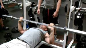 How Much Does Bench Bar Weigh 190 Pound Man Struggles With 45 Pound Bar Youtube