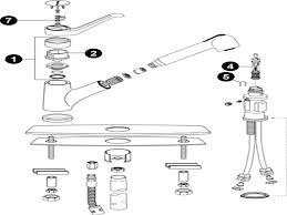 moen kitchen faucet diagram moen kitchen faucet diverter valve platinum single handle repair