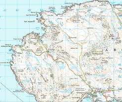 Road Map Of Scotland How To Get To Sanna Bay