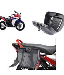 32 off on relax bike luggage side box for honda cbr 150r black