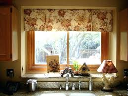 ideas for kitchen windows kitchen window treatment ideas musicyou co