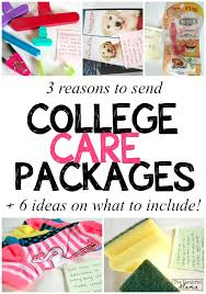 college care package 3 reasons to send a college care package today the realistic