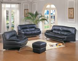 Tan And Grey Living Room by Grey Living Room Wall Themes With Black Leather Sofa And Square
