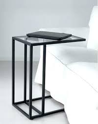 Ikea White Side Table Ikea End Tables Lack Into Stacked Side Table Console Tables With