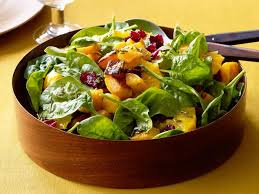 roasted butternut squash salad with tangerine rosemary vinaigrette