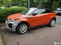 land rover convertible 4 door land rover range rover evoque convertible 12 juni 2016 autogespot