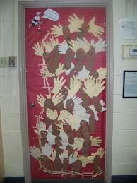 the notre dame talent show 2013 christmas door decorating