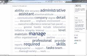 What Font To Use In Resume Why Tag Clouds Won U0027t Tell The Right Resume Key Words Job Search