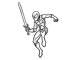 optimus 5 image coloring pages of ninjas 10947 bestofcoloring com