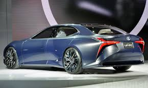 future lexus cars the lexus lf fc is a hydrogen powered future machine inhabitat