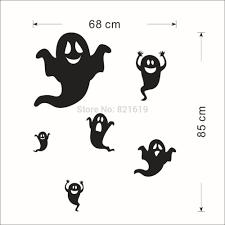 creative halloween ghost wall sticker diy halloween room