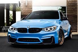 Bmw M3 Blue - sky blue bmw m3 f30 on avant garde sport wheels u2014 carid com gallery