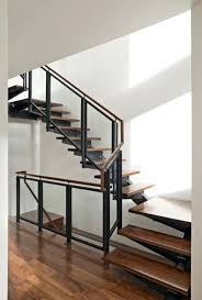 metal banister ideas how to paint interior metal stair railing modern railings stairs