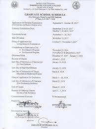 Program Paper Graduate Programs U2013 Marikina Polytechnic College