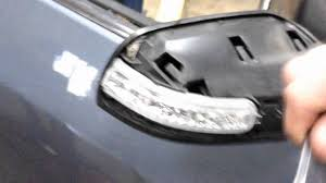 nissan grand livina spare parts nissan mirror turn signal replacement youtube