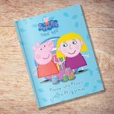peppa pig personalised book u2013 www justathought