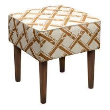 Bathroom Wooden Stool Furniture Breathtaking Upholstered Vanity Stool With Vivacious