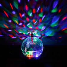 led disco ball light xtar rotating disco ball led party lights clear white lazada ph