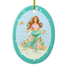 mermaid ornaments keepsake ornaments zazzle