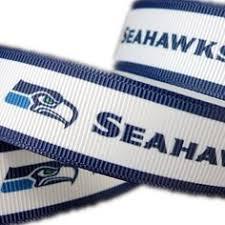 seahawk ribbon seahawks accessories seahawks bow seahawks earrings nfl team