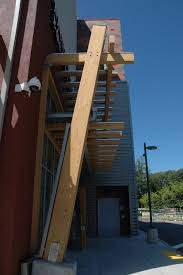 glulam trellis at yonkers rei store wood times blog
