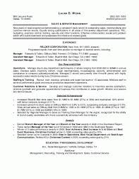 Sales Experience Resume Example by Retail Manager Resume Examples Berathen Com